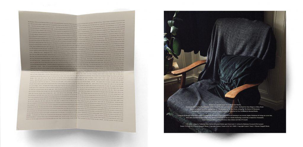 CD - Inner Folded Sheet